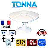 Tonna ANTENNE TV pour Camping Car Fourgon Camion 40dB TNTHD OMNIDIRECTIONNELLE - OMNITONNA