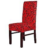Tenchif Ausdehnungs-speisende Stuhl-Abdeckungen abnehmbarer waschbarer Beleg für den schützenden Stuhl