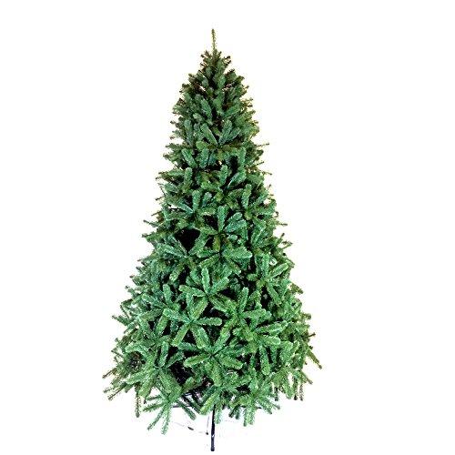 Scaramuzza Modo Albero di Natale Artificiale Imperial 270 cm, Materiale Silicone, Colore Verde Naturale, Supporto Incluso