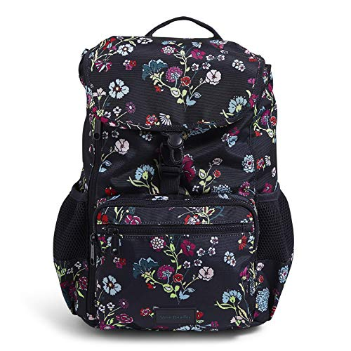 Vera Bradley Recycled Lighten Up Reactive Daytripper Backpack, Itsy Ditsy Floral