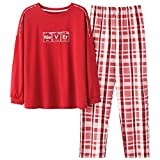 STJDM Bata de Noche,Spring Warm Green Silk Pajama Set for Women Autumn Fashion Satin Soft Sleepwear Cotton Home Nightwear XL 4