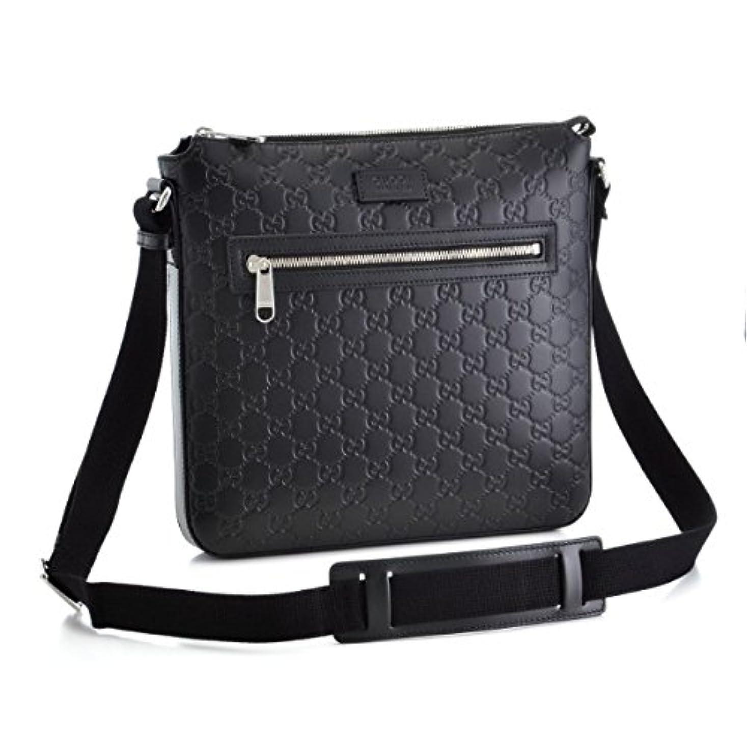 スーツトリクル独立してGUCCI(グッチ) バッグ メンズ Messenger Bags ショルダーバッグ ブラック 406408-CWCBN-1000 [並行輸入品]