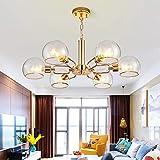 Luce Plafoniera 757mm * 290mm E14 Nordic Golden Living Room Restaurant...