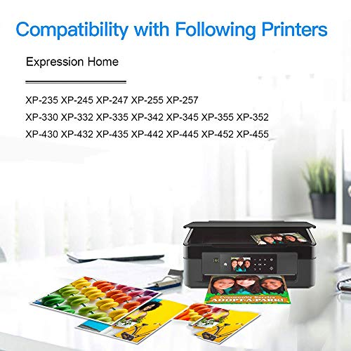 GLEGLE 29XL Compatible Tinta Cartuchos 15 Reemplazo para Expression Home XP-255 XP-245 XP-247 XP-235 XP-352 XP-332 XP-442 XP-342 XP-257 XP-355 XP-452 XP-455 XP-345 XP-445 XP-335 XP-432 XP-435