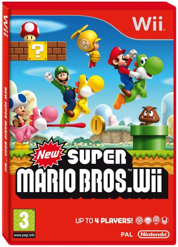 Price comparison product image New Super Mario Brothers (Wii)