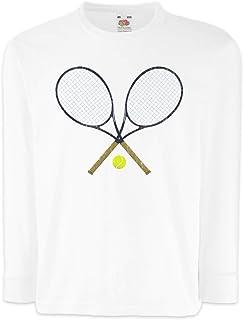 Urban Backwoods Tennis Rackets Camisetas de Manga Larga T-Shirt para Niños Niñas