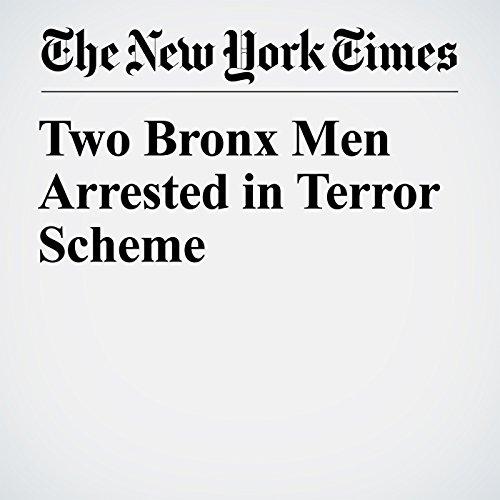 Two Bronx Men Arrested in Terror Scheme copertina