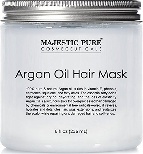 Olio di argan Hair Mask from Majestic Pure, 8 fl. oz – cura dei...