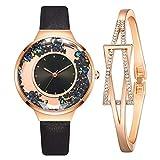 jieGorge Conjuntos de Relojes, Conjunto de Relojes de Pulsera para Mujer, Reloj con Esfera de...