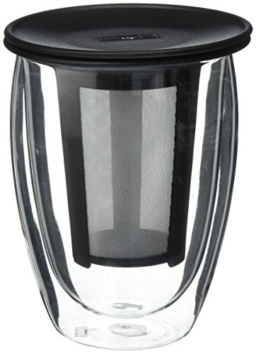 Best Review Of Bodum K11153-01US One Tea Strainer, 12 Oz, Black