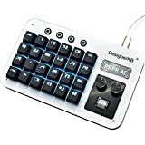 Photoshop Hot Key Macro Programming Keyboard for PS PR AE Keyboard for Designer Office Drawing Audio Video Clips Keyboard (BlueSwitch)