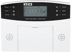 Wireless GSM Alarm Autodial System Home Security Burglar Alarm IR Detector,100-240V