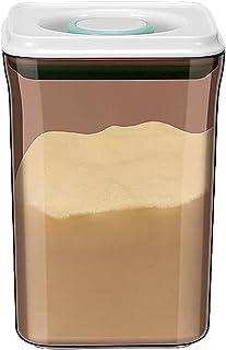 2pcs Push-Botton Aurance Stockage alimentaire pour la farine de sucre Pâtes Riz Riz Céréales & Coffe'-Boffefe'wn Plus de P...