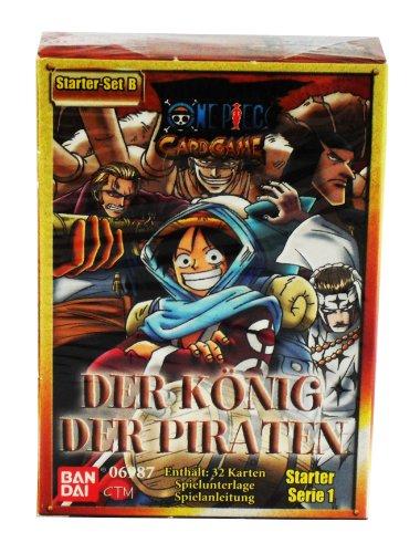 One Piece Der König der Piraten Serie 1 Starter Set B
