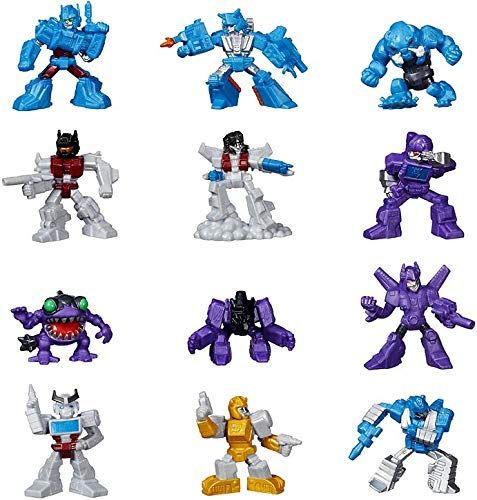 """Hasbro Transformers Robots in Disguise Tiny Titans Series 2 2-Inch 2"""" Set of 12 PVC Figures [Loose]"""