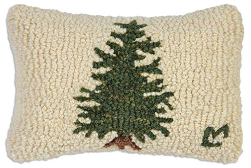 "Chandler 4 Corners Little Tree 8""x12"" Hooked Pillow"