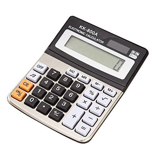 Calcolatrice elettronica portatile con display LCD a 8 cifre per contabilità finanziaria, cancelleria, elettronica scientifica, calcolatrice da scrivania portatile