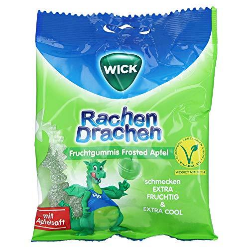 WICK RachenDrachen Halsgummis Apfel 75 Gramm