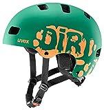 Uvex Unisex Jugend, Kid 3 cc Fahrradhelm, Dirtbike DarkGreen...