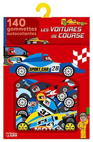 Ma boîte à gommettes: Les voitures de course - De 3 à 5 ans