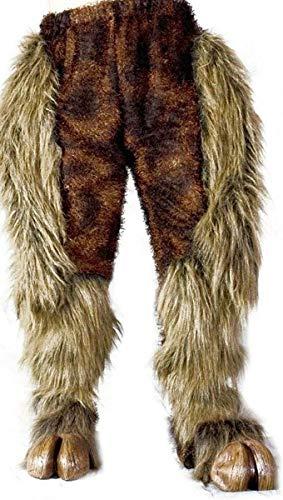 Zagone Studios Hairy Beast Legs Costume Bottoms – Brown