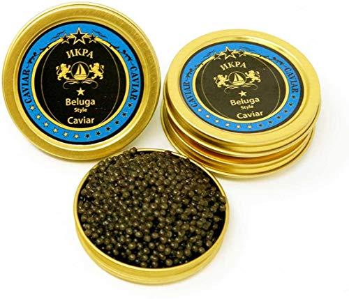 250 GR. Amur Beluga Classico Caviar. Consegna Standard Gratuita 1-2 Giorni.