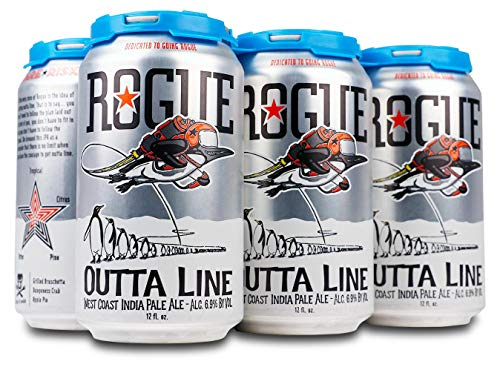 Cerveza Rogue Outta Line West Coast IPA LATA 35,5cl (6 unidades)