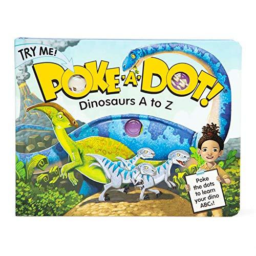 Melissa & Doug Poke-a-Dot – Dinosaurs A to Z