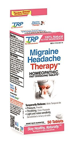 The Relief Products Migraine Headache Therapy, 50 Count