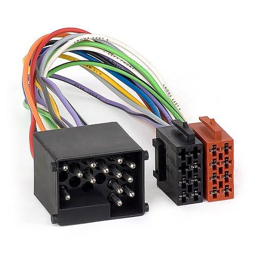 Audioproject A164 - Radio-Adapter kompatibel mit BMW Mini Landrover MG Rover 17 polig Rund-Pin ISO E36 E46 E39 X5 Z3
