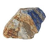 Real Gems Color Azul 2230.50 CT Losa de lapislázuli en Bruto, Piedra de lapislázuli en Bruto Natural en Bruto para la decoración del hogar, decoración del jardín