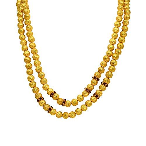 Joyalukkas Veda Collections 22k Oxidized Gold Necklace