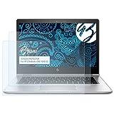 Bruni Schutzfolie kompatibel mit HP EliteBook x360 1030 G2 Folie, glasklare Bildschirmschutzfolie (2X)