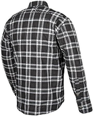 Black, X-Large Speed and Strength Black Nine Mens Reinforced Moto Shirt