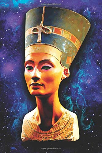 Nefertiti Bust: Blank Lined Notebook, Journal or Diary
