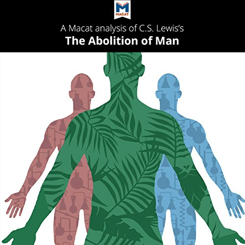 A Macat Analysis of C. S. Lewis's The Abolition of Man audiobook cover art