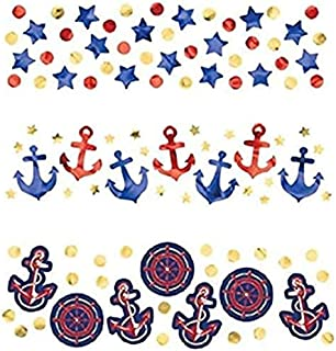 Amscan Anchors Aweigh Party Confetti, 1.2 oz.