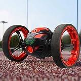 QHWJ Robot de Salto de Sumo, Truco de Salto de Rebote de Sumo 360 °, Carro de Salto Recargable Giratorio, Regalo de cumpleaños de año Nuevo de Navidad para niños,Red