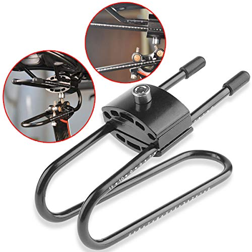 KIKILIVE Amortiguador de Bicicleta,Aleación Resorte Acero Cojín Amortiguador para MTB Montaña Bicicleta de Carretera,Sillín de Bicicleta Ajustable Dispositivo de suspensión