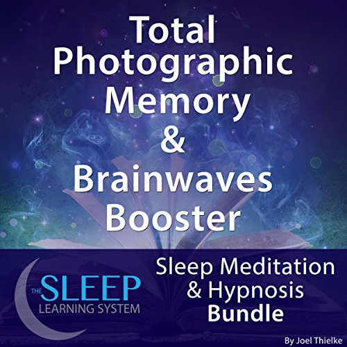 Total Photographic Memory & Brainwave Booster: Sleep Meditation & Hypnosis Bundle cover art
