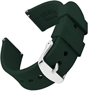 Archer Watch Straps - Silicone Quick Release Soft Rubber Replacement Watch Bands - Multiple Colors