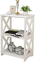 Rerii Display Shelves, Wood & Plastic Composite, 2-Tier Free Standing Shelf, Desktop Storage Organizer Rack, Kids Bookshelf for Home Living Room Bathroom Kitchen Office