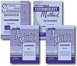 Hal Leonard Rubank Methods for Saxophone - Four Books - Includes Elementary, Intermediate, Advanced Volume 1, and Advanced Volume 2