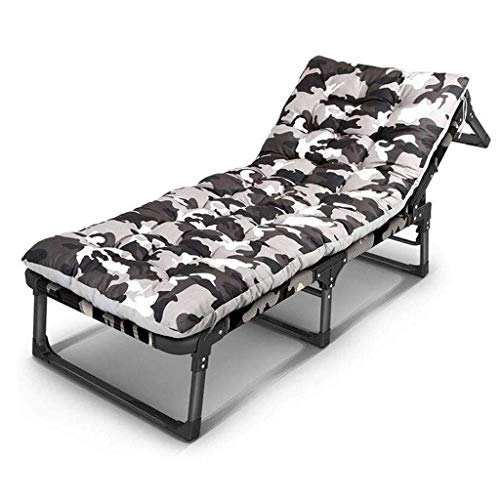 ZXL Fauteuil inclinable inclinable Sun Garden Outdoor Patio Guest Bed Transat inclinable (Couleur: B)