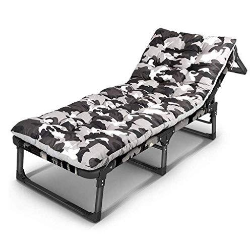 AABBC Reclining Folding Sun Garden Outdoor Patio Guest Bed Lounger Recliner Seat Chair (Color : C)
