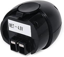 POWERAXIS 4.8V 2100mAh Ni-MH Taladro Batería de repuesto para Metabo 6.27271 631858000 6.31858 6.27273 60005952