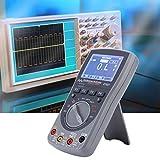 100 conjuntos de datos ET827 40Mhz 200Msps Multímetro con precisión Osciloscopio digital 2 en 1 para electricista con pantalla de alta definición