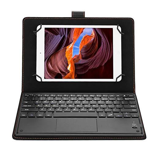 Sutinna Tastiera Universale per Tablet Bluetooth 9.7-10 Pollici, Custodia Protettiva per Tablet con Supporto Supporto + Tastiera Bluetooth per Android iOS Win