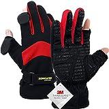 Waterproof Winter Gloves,3M Thinsulate Ski & Snowboard Gloves For Men And Women,Touchscreen Gloves