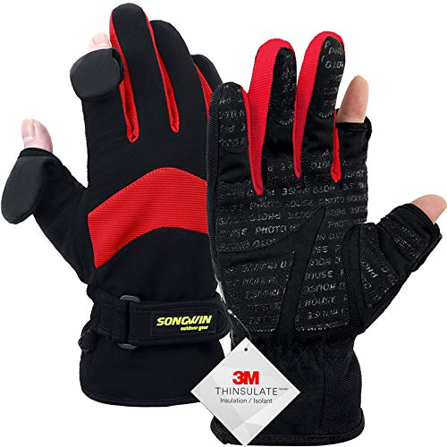 Songwin Guantes Impermeables de Invierno,Guantes...